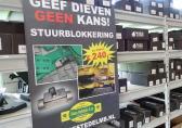 Hofstede stuurblokkering stuurslot stuur slot blokkering